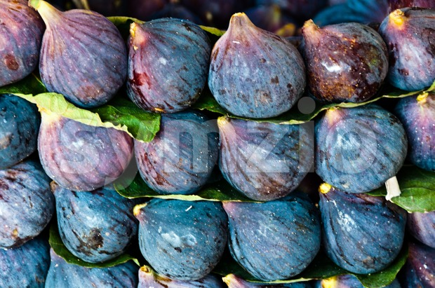 Fig fruits at market Stock Photo
