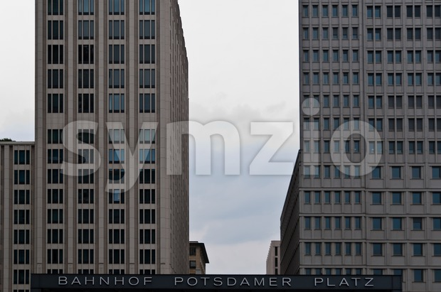 Berlin - Potsdamer Platz Stock Photo
