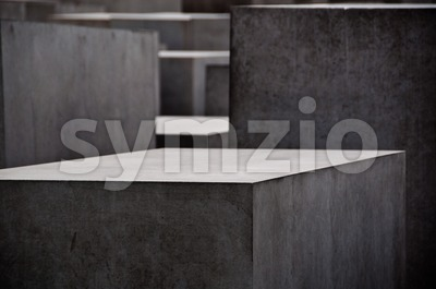 Berlin - Holocaust Memorial Stock Photo