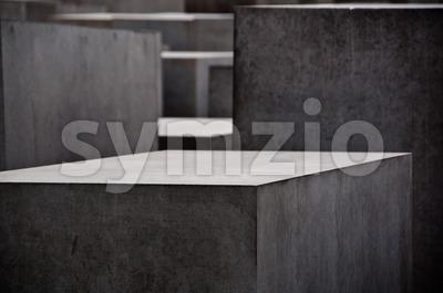 Berlin - Holocaust Memorial Stock Photo