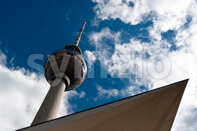 Berlin - Television Tower Stock Photo