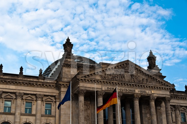 Berlin Reichstag Stock Photo