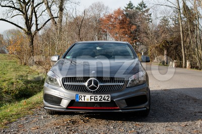 Mercedes A-Class 250 AMG Sport Stock Photo