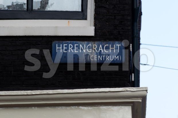 Herengracht steet, Amsterdam, Netherlands Stock Photo