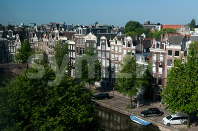 View on Amsterdam Stock Photo