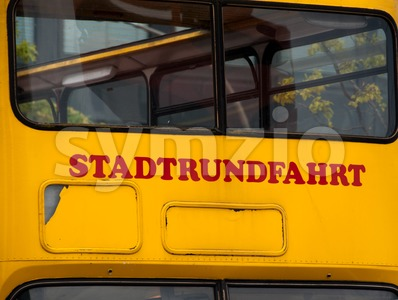 Stadtrundfahrt Stock Photo