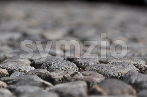 Ancient Stone Walkway Stock Photo