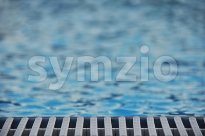 Pool detail Stock Photo