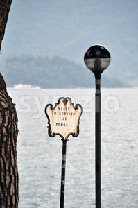 Italian waterfront Stock Photo