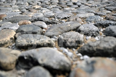 Ancient Stone Walkway 2 Stock Photo