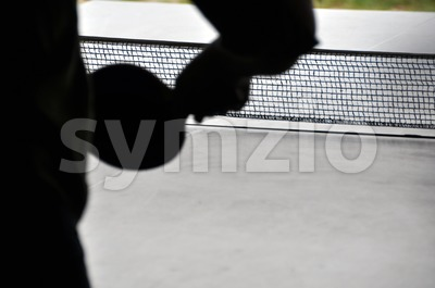 Ping pong - table tennis Stock Photo