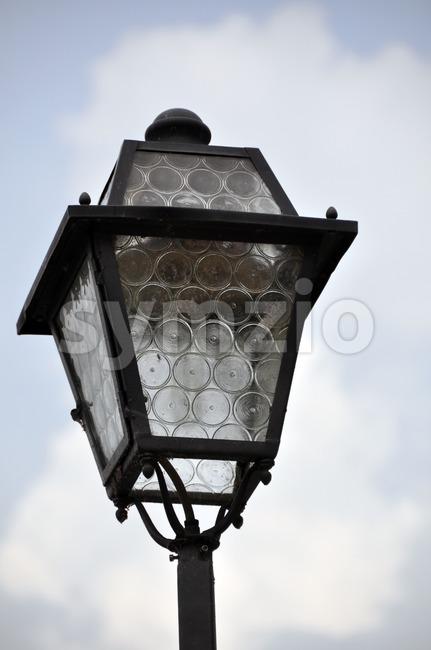 Old street light Stock Photo