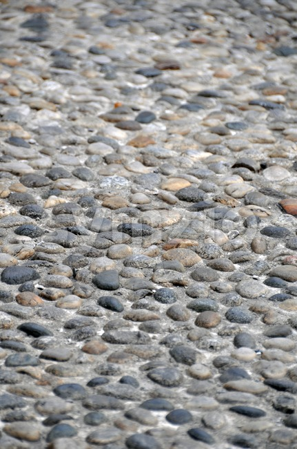Ancient Stone Walkway 4 Stock Photo