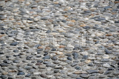 Ancient Stone Walkway 3 Stock Photo