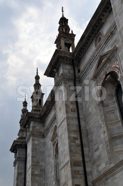 Dome of Como - Italy Stock Photo