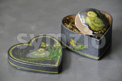 Decorative easter egg Stock Photo