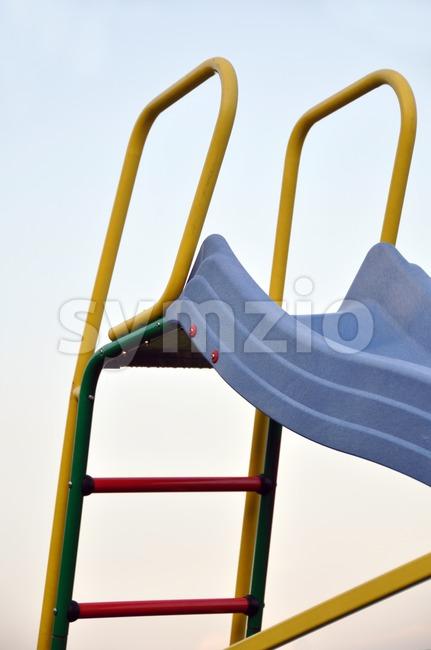 Slide Detail Stock Photo