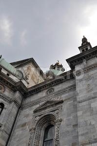 Dome of Como - Italy Stock Photo