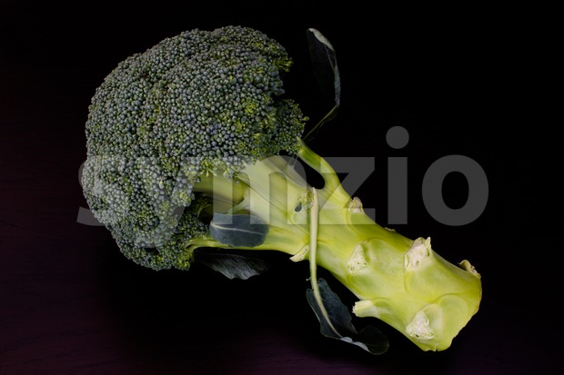 Fresh raw green broccoli Stock Photo