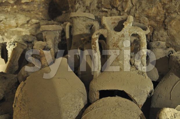 Amphorae Stock Photo