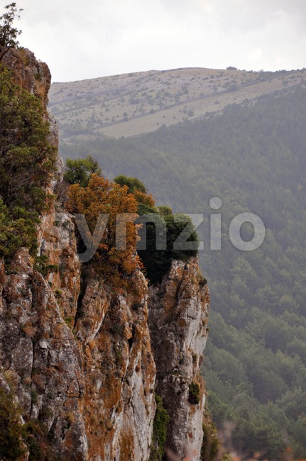 Croatian Mountains Stock Photo