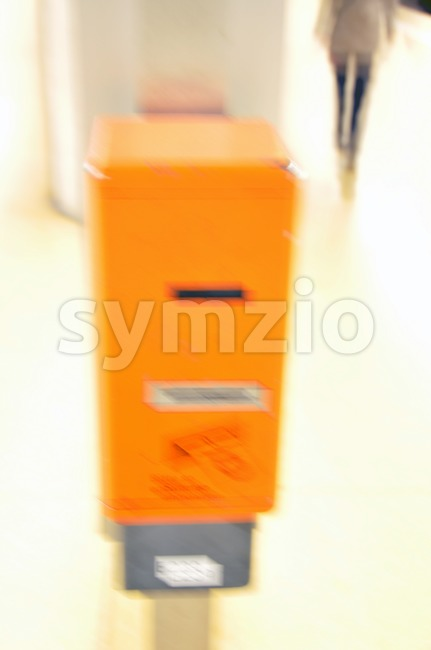 Ticket Machine Stock Photo