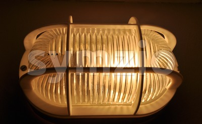 Cellar lamp Stock Photo