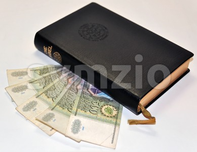 Church Tax Stock Photo