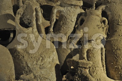Amphorae Stock Photo
