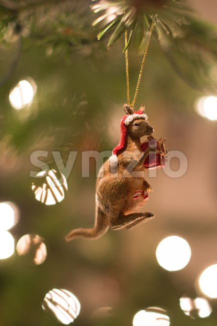 Australian Christmas Stock Photo
