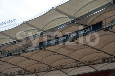 Mercedes-Benz Arena, Stuttgart Stock Photo