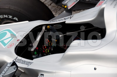 Mercedes GP Petronas - F1 race car Stock Photo