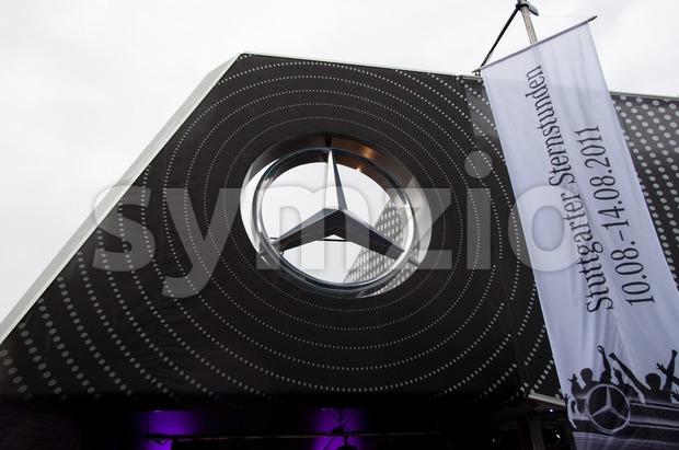 Mercedes-Benz Logo Stock Photo
