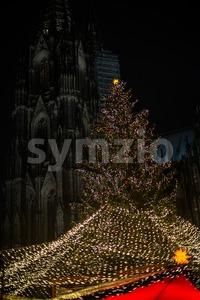Xmas in Cologne Stock Photo