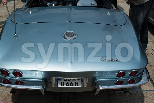 Corvette Stingray classic car Stock Photo