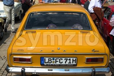 Ford Capri Classic Car Stock Photo