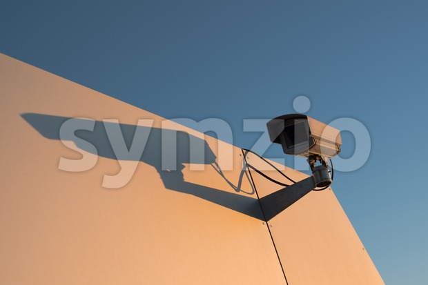 CCTV surveillance camera Stock Photo