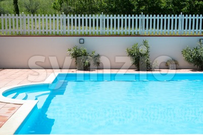 swimming pool detail Stock Photo
