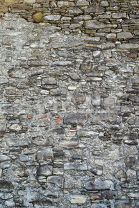 wall built of natural stone Stock Photo