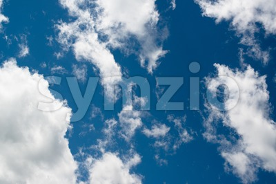 Blue sky background Stock Photo