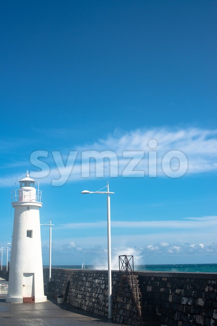 Beautiful lighthouse Stock Photo