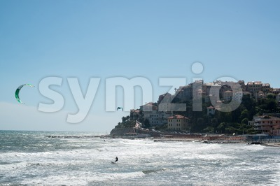 Imperia in Liguria, Italy Stock Photo