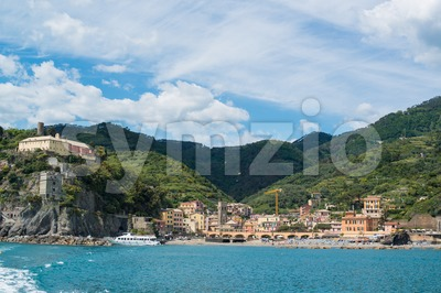 Monterosso in Cinque Terre, Italy Stock Photo