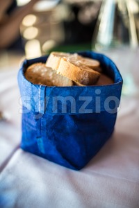 decorative bread basket Stock Photo