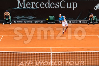 ATP Qualification in Stuttgart, Germany Stock Photo