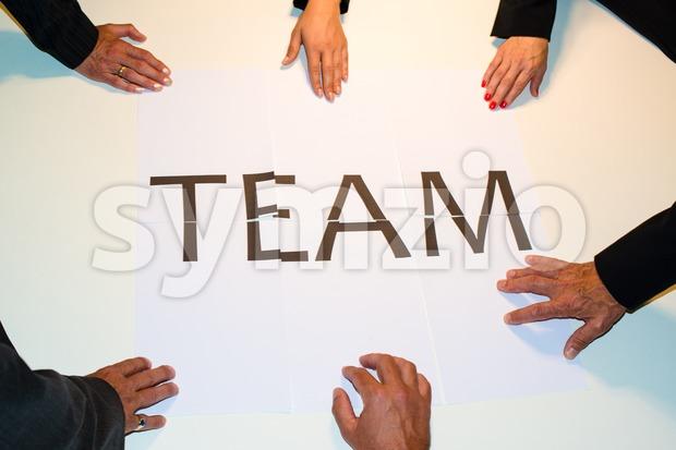 TEAMwork Stock Photo