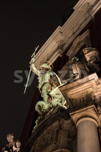 St. Michaelis, Hamburg, Germany Stock Photo