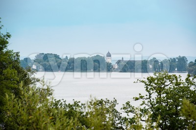 Chiemsee in Bavaria, Germany Stock Photo
