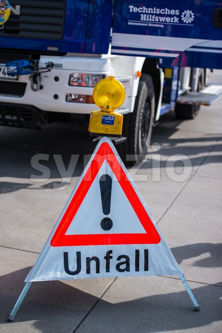 Accident - Unfall Stock Photo
