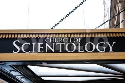 Scientology Church in New York Stock Photo